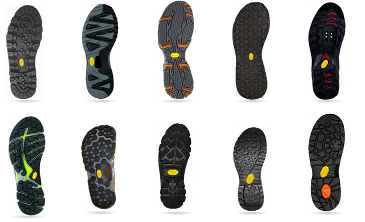 ビブラムソールのもう一つの特徴がデザイン性。 靴の底