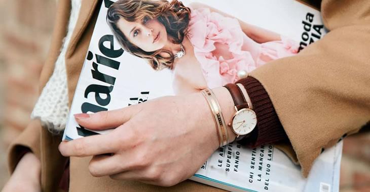 腕時計着用写真