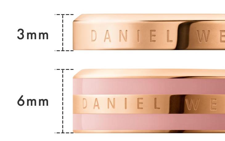 ダニエルウェリントン Classic Ringのデザイン